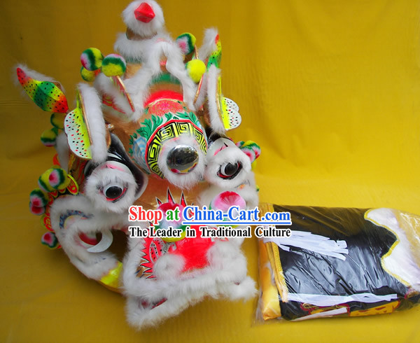 Chinese Classic Kylin Qi Lin Dance Costumes Complete Set