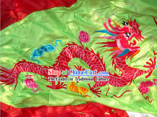 Super Large Dragon Dance and Lion Dance Embroidery Banner