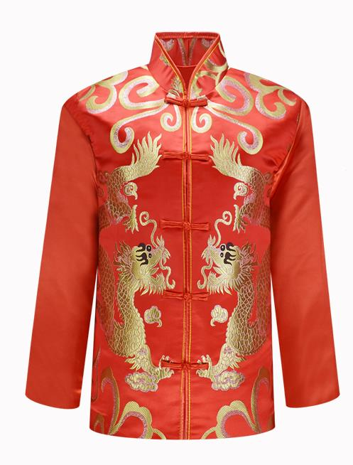 Traditional Chinese Red Wedding Dress For Men,50 Year Old Wedding Dress