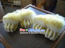 Professional Sheep Fur Lion Dance Claws