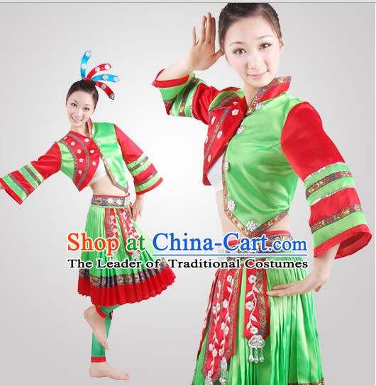 1146ee5ad Chinese Folk Minority Dance Costume Wholesale Clothing Discount Dance  Costumes Dancewear Supply for Women