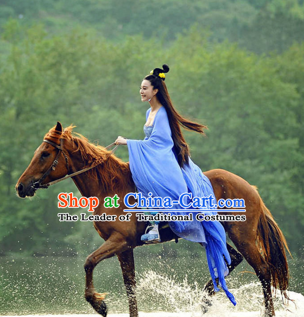 Chinese Tang Dynasty Princess Taiping Costumes Costume Complete Set for Women