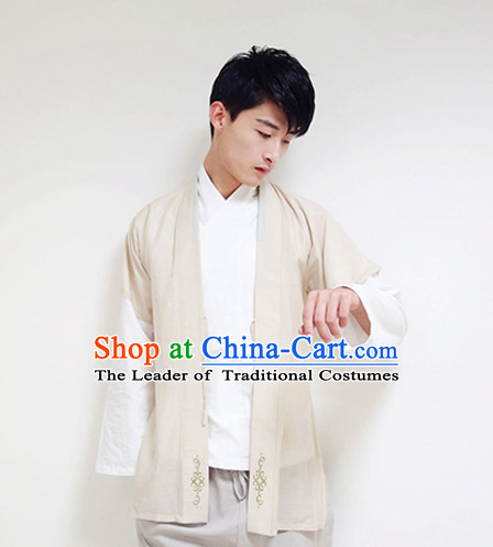 Ancient Chinese Han Dynasty Men Costume Kimono Wholesale Clothing Dance Costumes Cosplay Han Fu