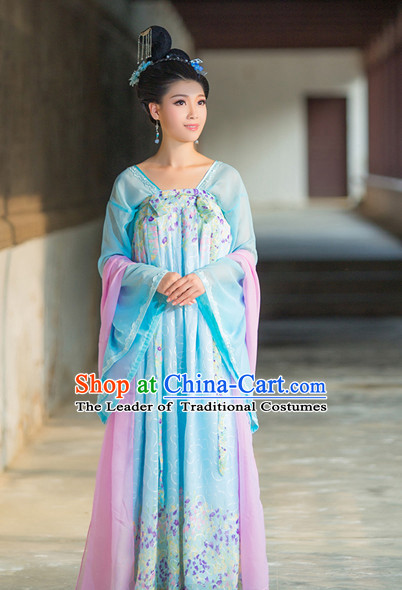 Chinese Tang Dynasty Costume Ancient China Costumes Han Fu Dress Wear Outfits Suits Clothing for Women
