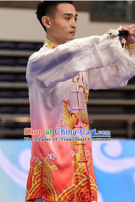 Kung Fu Competition Uniform Tai Chi Uniforms Martial Arts Suit