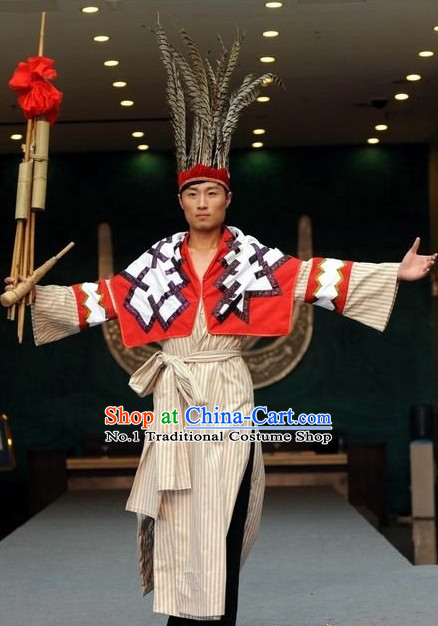 Oriental Clothing Chinese Traditional Ethnic Clothing in China for Men