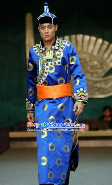 Oriental Clothing Chinese Traditional Mongolian Ethnic Plus Size Clothing online for Men
