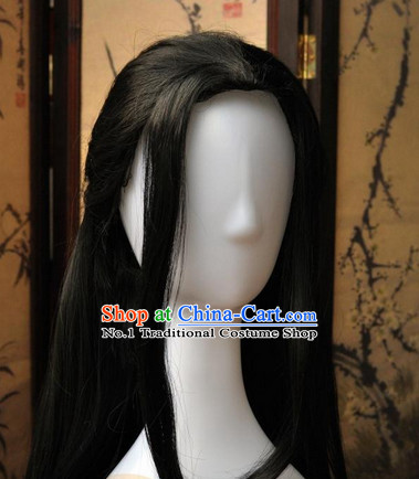 Asian Fashion Chinese Wigs Cosplay Wigs Ancient Costume Wigs Hair Pieces