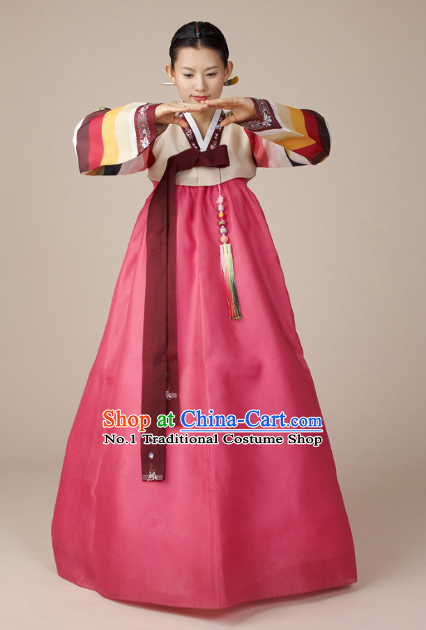 Korean Ladies National Costumes Traditional Costumes Hanbok Korea online Shopping