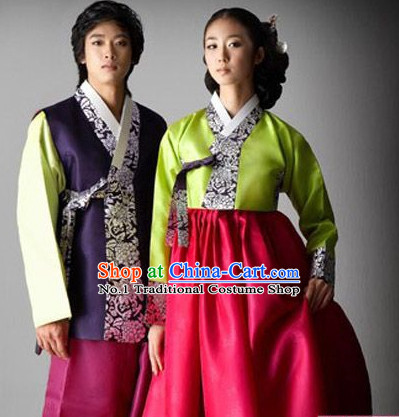 Korean Couple National Costumes Traditional Costumes Hanbok Korea Dress online Shopping