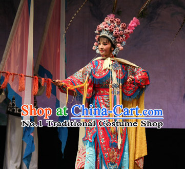 Chinese Culture Chinese Opera Costumes Chinese Cantonese Opera Beijing Opera Costumes Wu Tan Da Kao Costumes