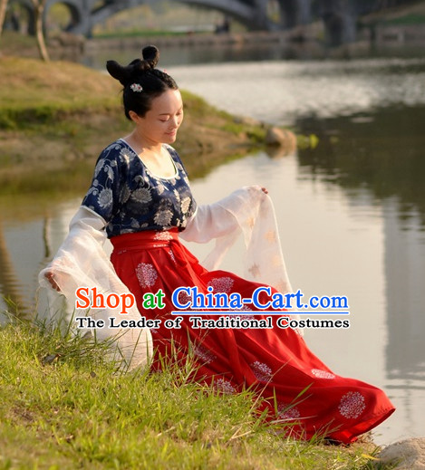 Chinese Tang Dynasty Costume Ancient Costume Traditional Clothing Traditiional Dress Costume China China Wholesale Clothing online