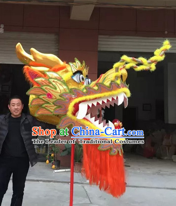 Chinese Dragon Head-PewterFantasyPaganSilverBuddistBraceletJewelry