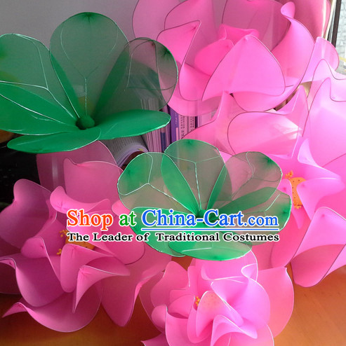 Big Handmade Leaf and Lotus Stage Performance Dance Props Dancing Prop Decorations