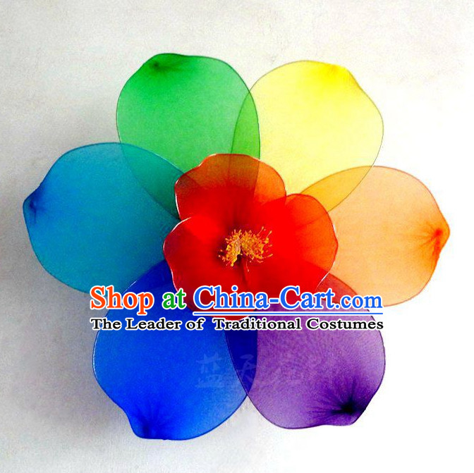 Traditional Chinese Stage Performance Flower Dance Props Dancing Prop