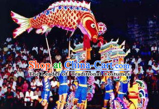 Traditional Chinese Lion Dance Dragon Dance Carp Dance Props
