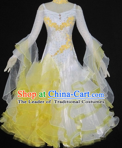 Chinese Ballroom Dance Costume Dance Costumes for Women