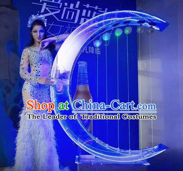 Giant Chinese Stage Performance Harp Dance Props Dancing Props
