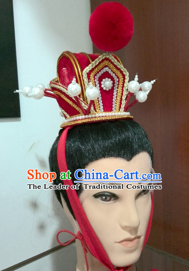 Ancient Chinese Prince Hat Hair Accessories Headpiece Headdress Crown 83c5840cbc7