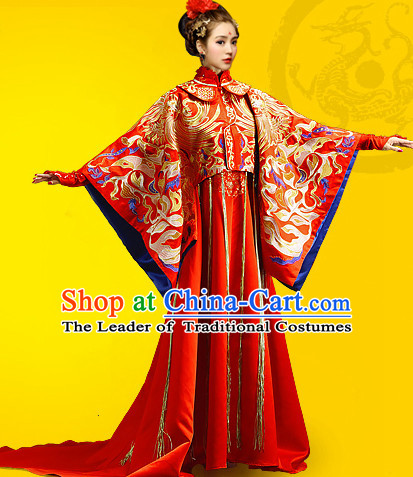 Chinese Traditional Wedding Dresses Bridal Wedding Gown