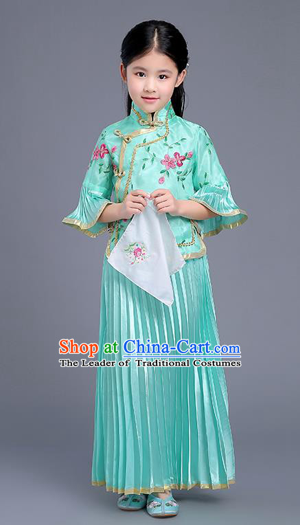 626f731cb734 Chinese Traditional Hanfu Dress for Kids