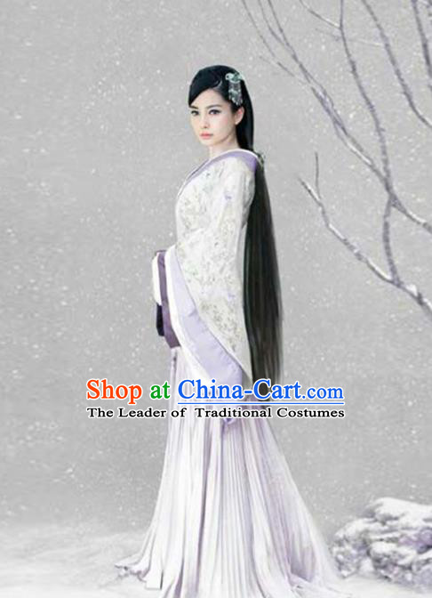 Traditional Ancient Chinese Princess Costume, Elegant Hanfu Clothing Chinese Han Dynasty Fairy Dress Clothing for Women