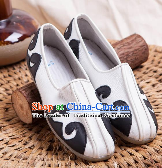 Traditional Chinese Shoes Kung Fu Wushu Shoes Embroidered Shoes Monk Shoes