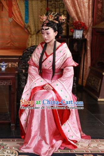 Ancient Chinese Ming Dynasty Imperial Empress Historical Costume Embroidered Replica Costume for Women