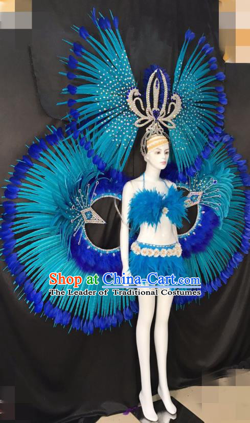 Top Grade Catwalks Costumes Brazilian Carnival Samba Dance