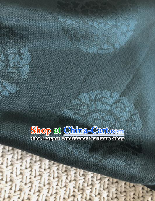Asian Chinese Traditional Silk Fabric Royal Pattern Brocade Cheongsam Embroidered Cloth Silk Fabric
