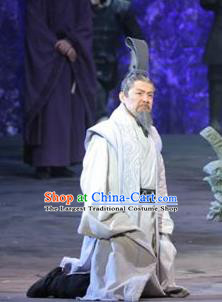 Chinese Drama Shang Yang Qin Dynasty Prime Minister Clothing Stage Performance Dance Costume for Men