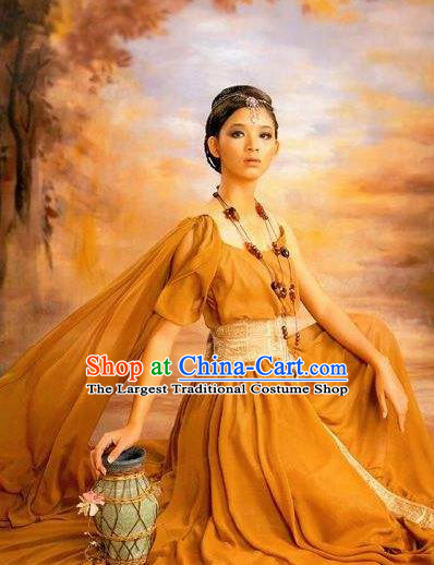 Traditional Greek Goddess Costume Ancient Greek Queen Dress for Women