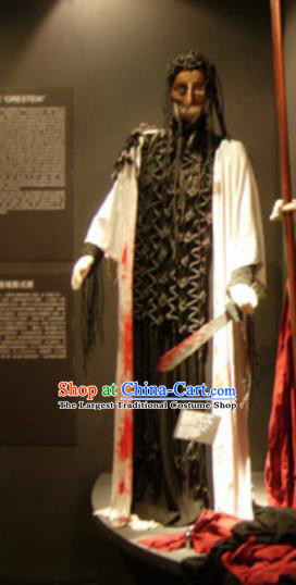 Traditional Greek Presbyter Costume Ancient Greek Black Clothing for Men