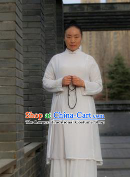 Chinese Traditional Kung Fu Costume Martial Arts Tai Chi Tang Suit Clothing for Women
