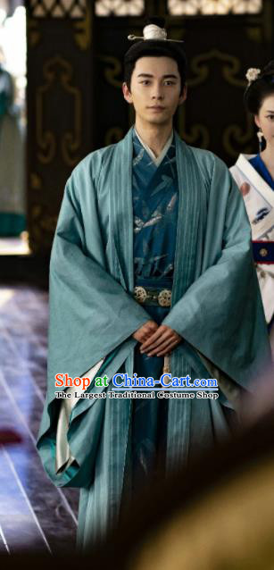 Traditional Chinese Tang Dynasty Crown Prince Hanfu Clothing Ancient Drama Royal Highness Embroidered Costume for Men