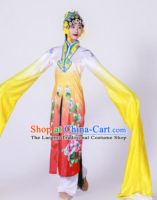 Chinese Traditional Dance Dress Classical Dance Water Sleeve Beijing Opera Costume for Women