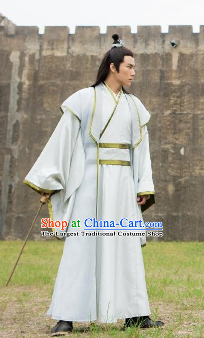 Drama The Legend of Deification Chinese Ancient Shang Dynasty Crown Prince Yin Jiao Costume for Men