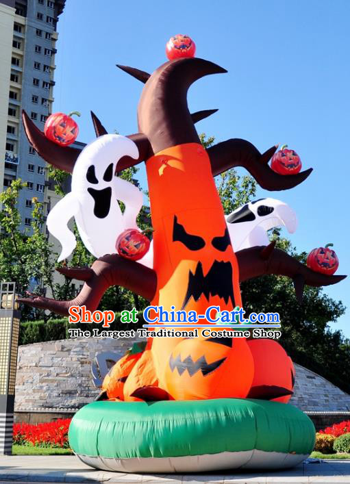 Large Halloween Inflatable Pumpkin Models Ghost Tree Inflatable Arches