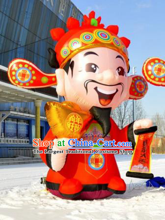 Large Chinese Inflatable God of Wealth Models Inflatable Arches Archway