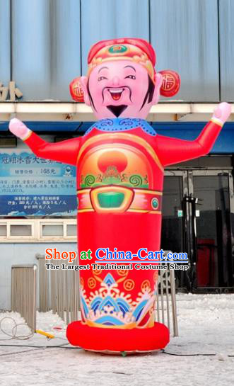 Large Chinese Inflatable God of Wealth Tumbler Models Inflatable Arches Archway