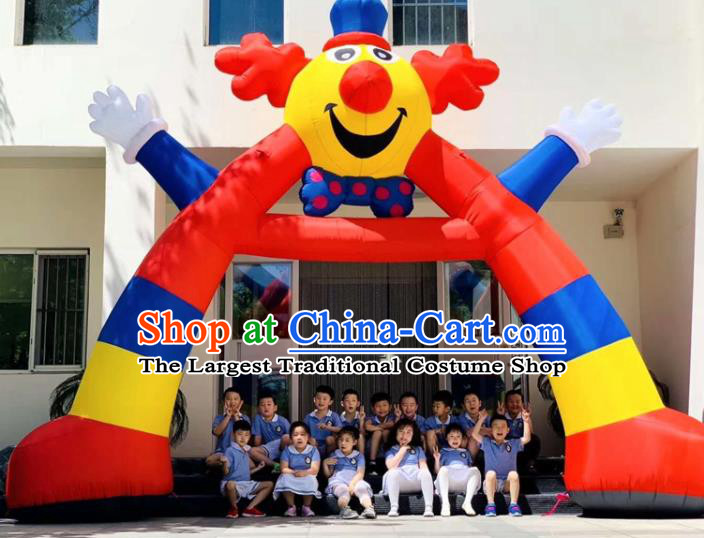 Large Halloween Inflatable Clown Archway Product Models Christmas Inflatable Arches