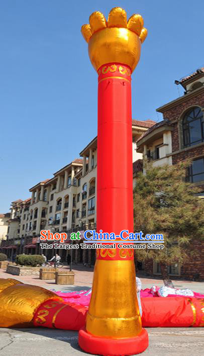 Large Chinese Moving Pillar Inflatable Product Models New Year Inflatable Arches