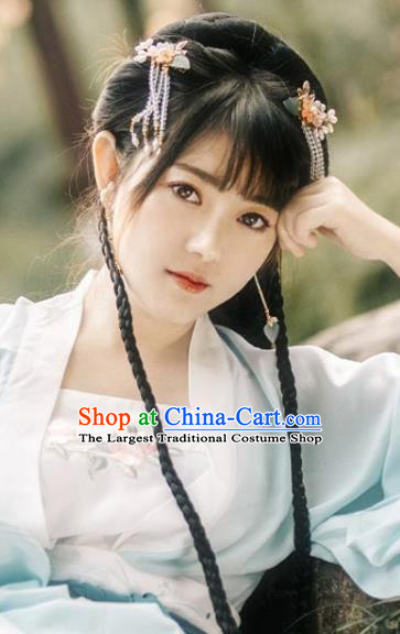 Chinese Ming Dynasty Girl Wigs Chignon Quality Wigs China Best Wig Ancient Palace Lady Hairpiece