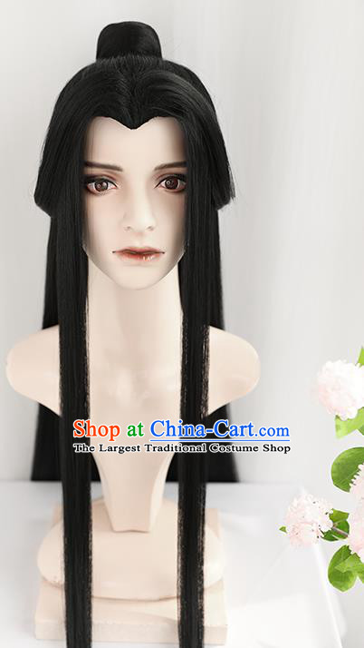 Best Chinese Cosplay Swordsman Wig Sheath China Quality Wigs Ancient Prince Xie Lian Wig