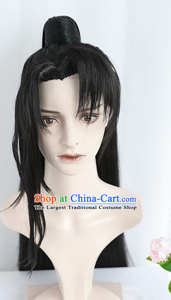 Best Chinese Cosplay Young Hero Wig Sheath China Quality Wigs Ancient Swordsman Xiao Ce an Wig