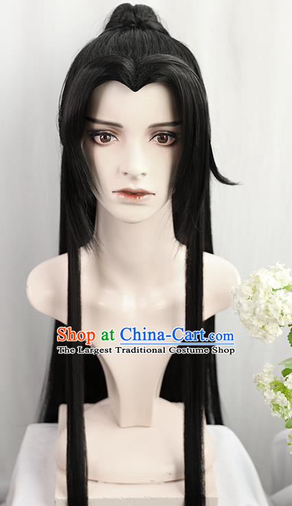 Best Chinese Drama Ancient Swordsman Wig Sheath China Quality Wigs Cosplay Young Knight Wig