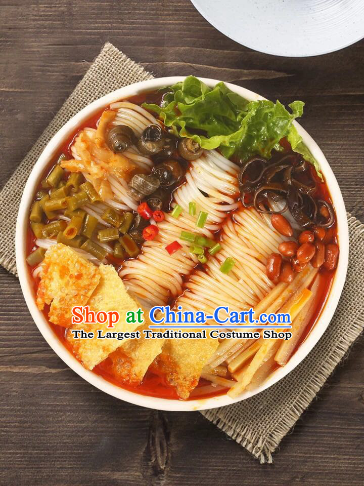 China Liuzhou River Snails Rice Noodle Luo Jiuxiang Rice Noodles Guangxi Famous Local Food