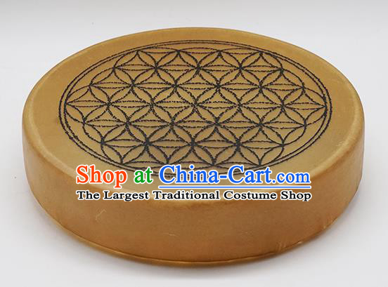 German Traditional Musical Instruments Flower of Life Pattern Drum Religious Shaman Drum Shamanic Tupan Cowhide Drums