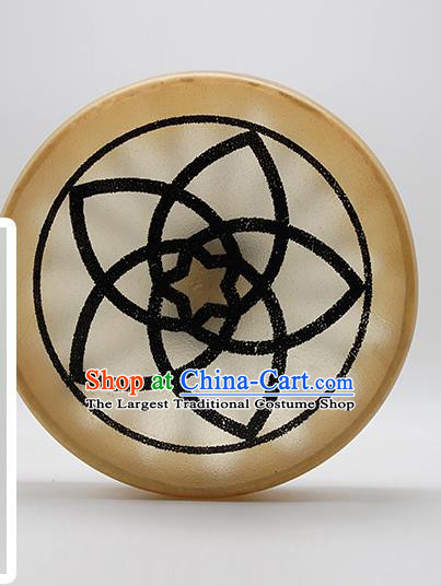 German Traditional Musical Instruments Venus Flower Pattern Drum Religious Shaman Drum Shamanic Tupan Cowhide Drums